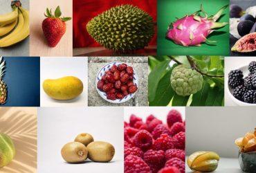 fruits that aren't round